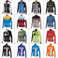 Wholesale Cream Equipment - HotNew 2015 Spring Autumn man cycling clothing Long Sleeve Jersey Cycling wears Bicycle equipment Cycling Jersey ciclismo maillot Breathable