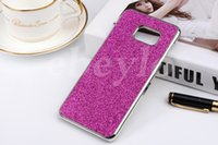 Wholesale Hard Chrome Bling Case - 2015 New Arrival Luxury Shiny Bling Glitter Chrome Plastic Frame Hard Case Back Cover for Samsung Galaxy Note 5 Note5 Edge SGN5C09