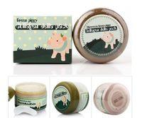 Wholesale Korean Anti Wrinkle Cream - South Korean products sell like hot cakes Pig skin anti wrinkle 100g anti aging mask Moisturizing Whitening free shipping DHL 60203