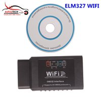 Novo ELM327 WIFI OBD2 EOBD Scan Tool Support Android e iPhone / iPad Software V2.1 Alta qualidade
