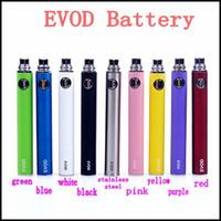 Wholesale E Cigarette Ce6 Kits - Electronic Cigarette EVOD Battery 650mah 900mah 1100mah E-cigarette Battery for MT3 CE4 CE5 CE6 E cig Kit Instock