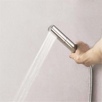 Wholesale Shower Heads Functions - New Arrival Whirling Style Handled Shower Two Function Hand Shower Rainfall And Water Column Brass Rain Hand Hold Showers