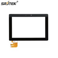 Wholesale touch screen tablets asus - Wholesale- Srjtek For Asus Transformer Pad TF300T TF300 TF300TG G01 version Digitizer Touch Screen Glass G01 Version 69.10I21. Tablet Parts