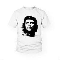 Wholesale Che Guevara Shirts - WishCart che guevara Head Printing Do Old Style Cotton T Shirt Tee Shirt Casual Short Sleeve Cotton Tee Comfortable T-Shirt
