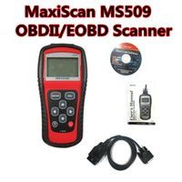 Wholesale Automotive Diagnostic Computers - New arrival! MS509 OBD2 vehicle fault computer detection instrument scanning tool MaxiScan MS509 OBDII EOBD Scanner