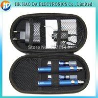 Wholesale Electronic Cigarette Batterie - lectronic Cigarettes Electronic Cigarette Kits EGO CE4 EVOD electronic cigarette Double kits 2*CE4 Atomizers 2*EVOD Rechargeable Batterie...