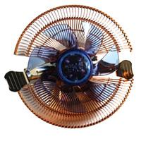 12v kühler lüfter großhandel-Großhandel-Durable 22dBA 12V DC CPU Kühler Lüfter PC Kühler Computer Kühlkörper 4 Röhren für AMD für Intel