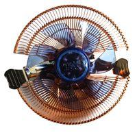 radiateur ventilateur 12v achat en gros de-Vente en gros - Durable 22dBA 12V DC CPU Ventilateur Refroidisseur PC Radiateur dissipateur de chaleur 4 Tubes pour AMD pour Intel