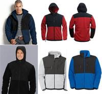 Wholesale Men Classic Hooded Jacket Hoodie - Outdoor Classic denali Fleece Hooded Fashion Jacket Waterproof breathable sportwear hoodies Coats Outwear Female Sports Face Jackets men