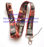 "Wholesale Attack Titan Key Chain - Free shipping Wholesale 50pcs Cartoon Attack on Titan Cell Phone Straps & Charms   neck Lanyard Key Chain 18"" S#16"