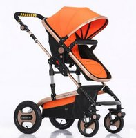 Wholesale Lightweight Travel Strollers - Lightweight Travel Stroller,Reversible Baby Strollers,China Baby By,Ultra Light Toddler Carriage,High Landscape European Pram