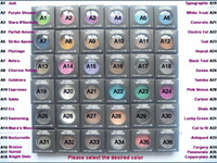 Wholesale English Glitter - Wholesale --- NEW brand makeup 1.5g pigment Eyeshadow  Eye shadow With English Colors Name 36 color (12pcs lot)