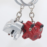 Wholesale Parts Car Engines - Promotional HOT Car Tuning Zinc alloy Car Engine Styling Keychain Auto Parts Turbo Engine Keyring