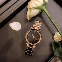 Wholesale Women S Luxury Watches - 2017 New Fashion wrist watches Top Selling Luxury brand High-quality Quartz watches personality series Women 's Quartz teel strip Wholesale