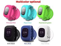 Wholesale Touch Mobile Watch Phone - Children watch Child phone watch smart positioning watch mobile phone touch screen color screen factory direct sales