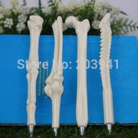 Wholesale Novelty Office Stationery - Creative bones novelty ballpoint pens lovely bones ball pen korean stationery , dandys