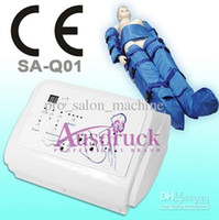 Wholesale massage machine for slimming - Portable Pressotherapy Air Pressure Slimming machine for detox and body wrap weight loss Lymphatic Drainage Massage