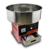 elektrische zuckerwatte maschine großhandel-110 V 220 V Elektrische DIY Zuckerwatte-Hersteller-Maschine Sweet Candy Floss Spun Sweet Sugar Machine;