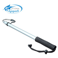 ingrosso stringa in alluminio-Gancio telescopico per pesca in mare con giavellotto Agepoch con cordino in lega di alluminio ghiaccio