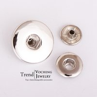 Wholesale Jewelry Tools Accessory - Simple Design 12mm and 18mm Snap Buttons (Vn-570) Free Shipping Vocheng Jewelry