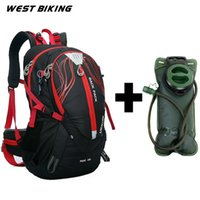 Wholesale Stent System - 40L Stent System Cycling Bag Waterproof Bike Shoulder Backpack Sport Outdoor Travel Hydration Bicycle Cycling Water Bag