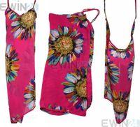 Wholesale Cool Swimwear Bikinis - Beach Dress Bikini Wrap Cover Up Swimwear Dress More Color To Choose 10pcs Cool summer color