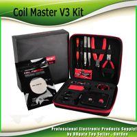 Wholesale Master Diy - Newest Coil Master V3 kit Clone DIY tool bag coil winder Coil Master Tool Kit 2.0 For RDA RBA Atomizer ecigs DHL free