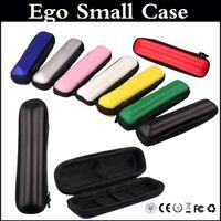ecig carregam sacos venda por atacado-EGo caso Ecig kits de saco de couro colorido único maleta para ego t Vision spinner E cigarro
