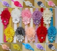 bandanas säuglinge großhandel-15% Rabatt auf Baby Stirnbänder Baby Headwear Kinder Blume Perle Kleinkind Kleinkind Mädchen Stirnband Clips Haarband Haarband Zubehör 10St