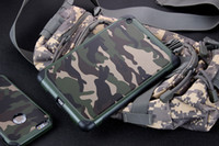 Wholesale China Wholesale Army - Mini4 Army Military Camo Camouflage Armor Tough Shockproof Hybrid 2 in 1 PC TPU Case Cover for iPad Mini 1 2 3 4 with Retail Package