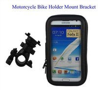 Wholesale Gps Satnav - Waterproof GPS Phone SatNav Case Motorcycle Motorbike Bike Mount Holder for Iphone 4 4s 5 5s 6 plus Samsung Galaxy S4 S5 S6