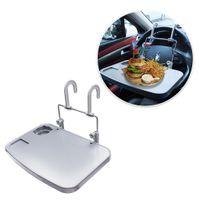 Wholesale ipad notebooks resale online - Car Laptop Desk Food Fruit Notebook Ipad Drink Holder Stand Steering Wheel Tray Eating Wheel Table Holder