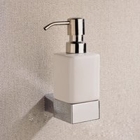canada chrome liquid soap dispenser and holder with brass whole copper bathroom shower soap dispenser
