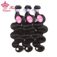 Wholesale queen virgin malaysian hair for sale - Group buy Queen Hair Mix Lenght quot quot g Malaysian Virgin Human Hair Extensions Body wave Natural black