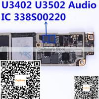 Wholesale Ic Audio Iphone - 100% NEW Original U3402 U3502 for iphone 7 7plus 4.7 5.5 small audio codec ic chip 338S00220