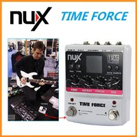 Wholesale Time Force - NUX TIME FORCE Multi Digital Delay 11 Delay Effects Electric Guitar Effect Pedal 20Hz - 20kHz Pedal Guitarra
