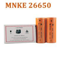 nemesis batterie großhandel-MNKE IMR 26650 Batterie MH46698 LIMN Akku 3500mah High Drain Batterie für 26650 Manhattan Nemesis mechanische Mods