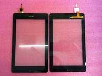 Wholesale acer touch screen replacement resale online - Hot Sale Handwritten Display on the outside Inch Brand Touch Screen Display Glass Replacement For ACER B1 HD