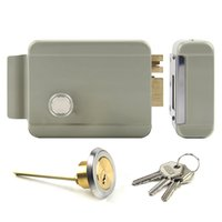 Wholesale Door Video Electric Lock - Anti-theft Electric Controlled Lock for Building Intercom System, Video Door Phone System used Electric Lock