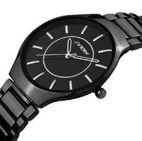 Wholesale Sinobi Stainless Steel Black - HOT Sale!! SINOBI Brand Black Stainless Steel Strap Watches for Men Fashion Japanese-Quartz Movement Wristwatch Waterproof