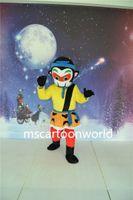 trajes de macaco para adultos venda por atacado-O Rei Macaco traje da mascote de alta qualidade fantasia vestido adulto tamanho festa do Dia Das Bruxas, roupas de festa de natal