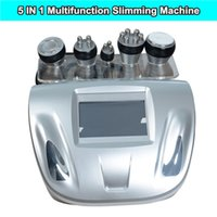 Wholesale Cellulite Slimming Roller - New portable ultrasonic 40k cavitation body slimming machine vacuum face body rf cavitation roller machine body cellulite shape