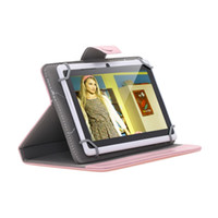 "Wholesale Dhl Shipping Phablet - DHL Shipping Universal 7 Inch 9 Inch 10 Inch PU Leather Folio Smart Case Cover for 7"" 9"" 10"" Tablet PC Phablet"