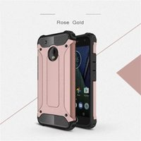 Wholesale z2 back covers for sale – best 100pcs Heavy Hybrid Armor Slim Cases Dual Layer Defender TPU PC Back Cover For Motorola Moto C Plus E4 Plus Z2 Play