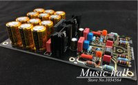Home Audio Video Music Hall Equipamientos Amplificadores Alemania doble circuito OPA2111KP AirVinyl MM montado placa de fono Etapa HIFI envío gratuito