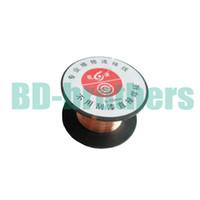 Wholesale copper wire line for sale – best mm Copper Soldering Solder PPA Enamelled Reel Wire Line Roll Fly line Jump Wire