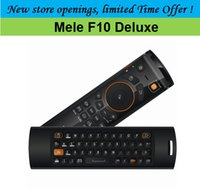 Clavier Deluxe F10 Fly Air Mouse-Mele gros 2.4GHz Remote Control pour Android TV Box CS918 M8 MXQ TV BOX Mini PC, Kodi Smart TV