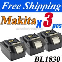 Wholesale Packs New Makita V Compact Lithium Ion Battery BL1830 for Cordless drill order lt no track