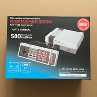 Wholesale Cheap Wi Fi - Cheap Mini TV Video Handheld Game Console Entertainment System Built-in 500 Classic Games For NES Games PAL & NTSC With Retail Box 30pcs