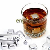 Wholesale Glacier Rocks Soapstone - Stainless Steel Whiskey Stones whisky beer rocks Soapstone Glacier 00551